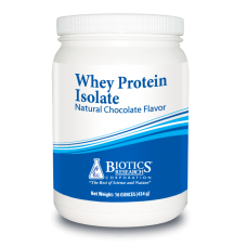 Whey Protein Isolate - Natural Chocolate Flavor (16oz)