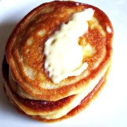 Coconut Flour Pancakes with Cinnamon